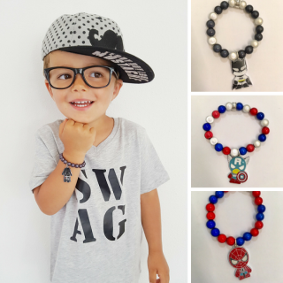 Armbandjes-superhelden-spiderman-captain-america-darth-vader
