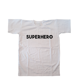 kind tshirt superhero ster