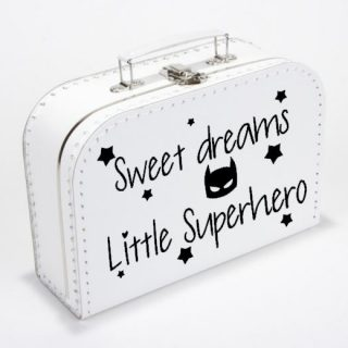 koffertje-sweet -dreams- little superhero-superhelden-kinderkleding-kraamkado