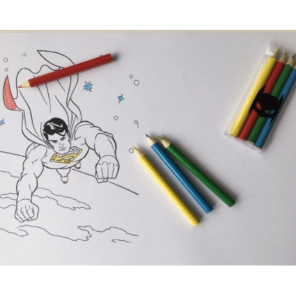 kleurpotloodjes trakteren batman