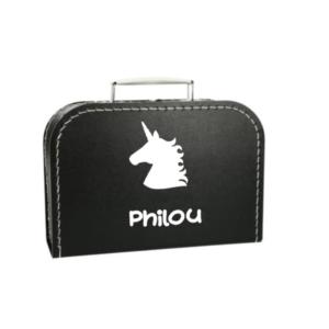 Kinderkoffer Unicorn met naam