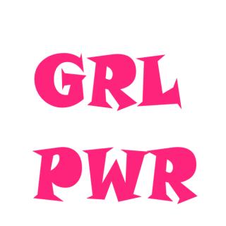 muursticker-grlpwr-28x30cm-roze-superheldenshop