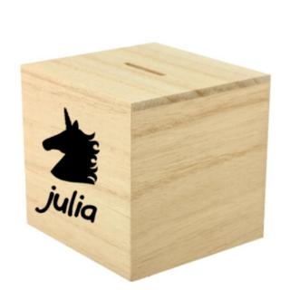 spaarpot-unicorn-zwart-julia-met-naam-superheldenshop
