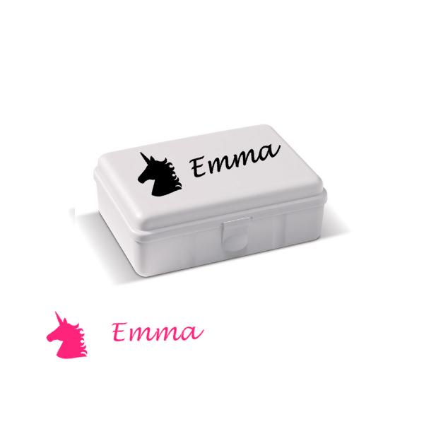 sticker-lunchbox-kind-Unicorn-emma-roze-superheldenshop