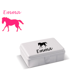 sticker-lunchbox-kind-paard-zwart-diy-superheldenshop