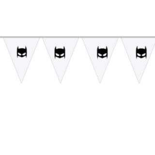 vlaggenlijn batman wit 10 meter
