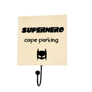 kinderkamer-kledinghaak-superhero-cape-parking