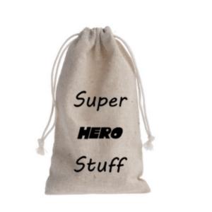 traktatiezakje superhero stuff