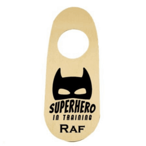 deurhanger superhero in training koop je bij superheldenshop