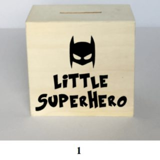 kraamkado little superhero spaarpot geboorte