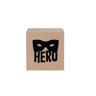 houten blok kinderkamer Superhero