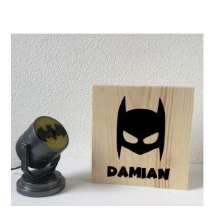 decoratie kinderkamer batman masker superhero