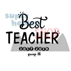 strijkapplicatie best teacher