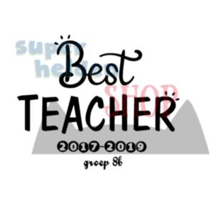strijkapplicatie best teacher