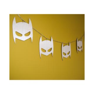 slinger houten masker batman