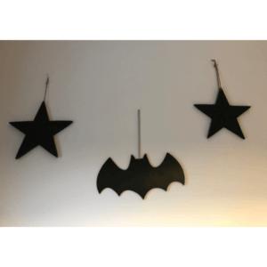 Houten Batman vleermuis