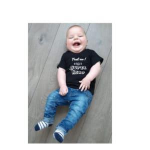 baby shirt trust me i am a superhero