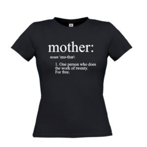 tshirt moeder