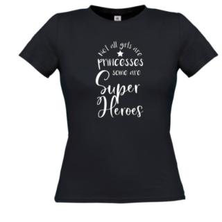 tshirt superheroes princesses