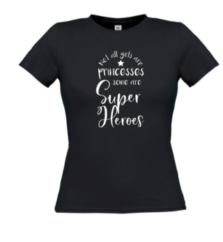 tshirt superheroes princesses