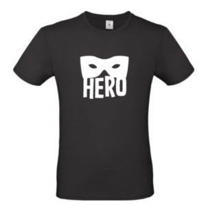 heren tshirt hero