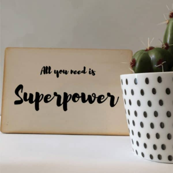 all you need is superpower kaart