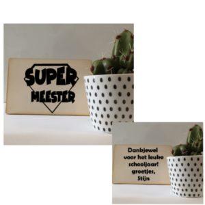 kaart supermeester meester