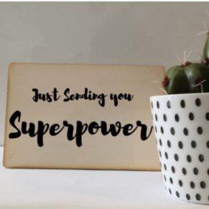 kaart superpower superheldenshop