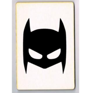 kaart batman masker