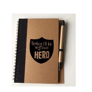 notitieboekje met pen gepersonaliseerd kind