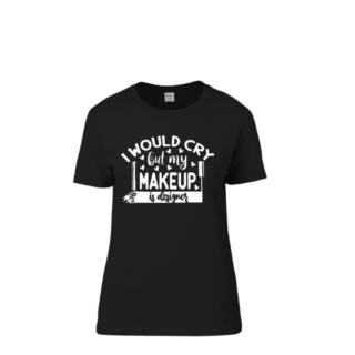 tshirt makeup dames