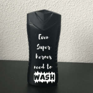 douchegel even superheroes need to wash