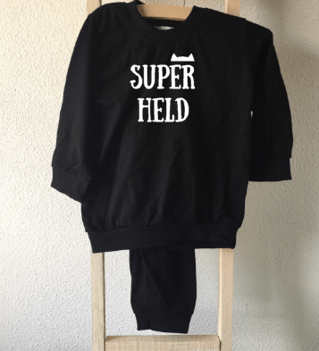 baby pyjama superheld