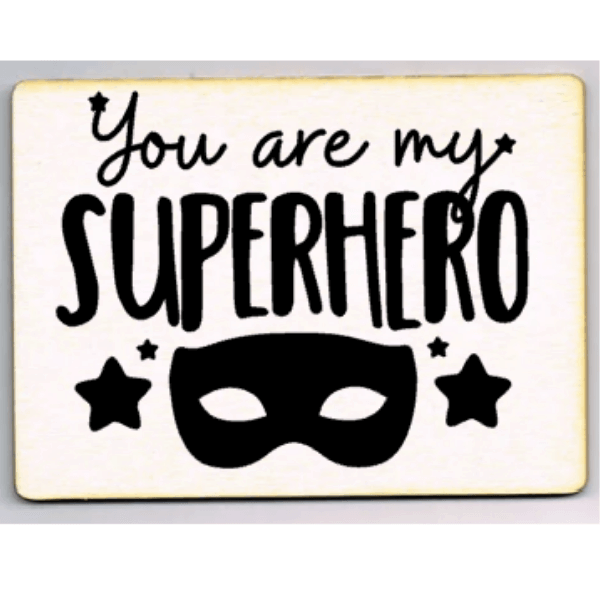 kaart you are my superhero