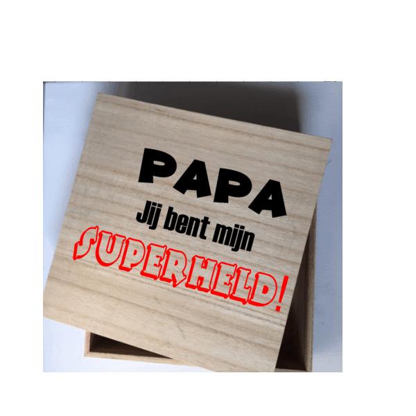 papa superheld kadobox