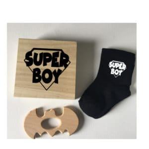 Superboy kraamkado geboorte