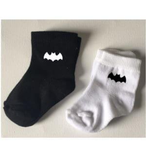 batman babysokjes zwart wit