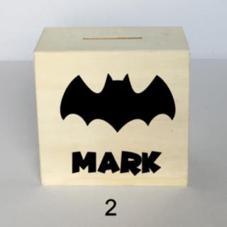 spaarpot batman vleermuis met naam