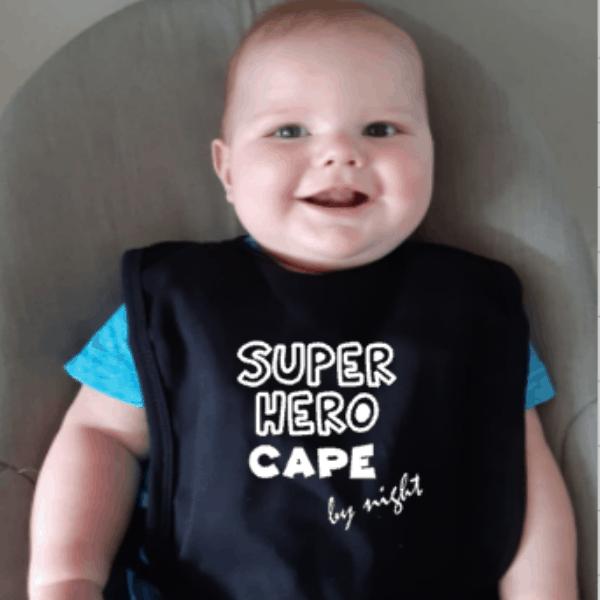 slab superhero cape by night