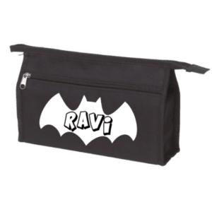 toilettas vleermuis batman met naam
