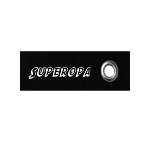 vilten sleutelhanger superopa