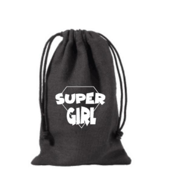 traktatiezakje supergirl zwart