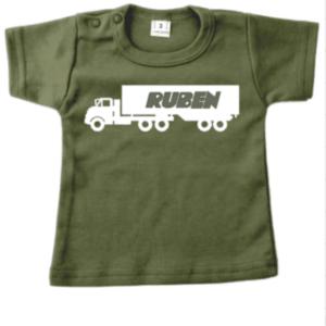 tshirt vrachtwagen met naam