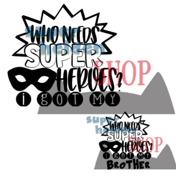 strijkapplicatie who needs superheroes