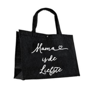 Vilten tas Mama is de liefste