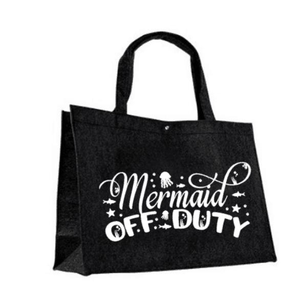 Vilten tas Mermaid off duty