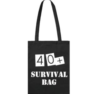 40+ survival bag leeftijdkado