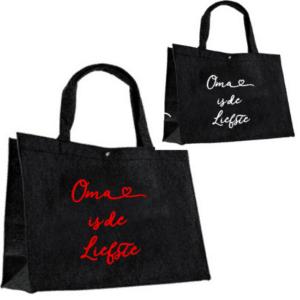 Vilten tas Oma is de liefste