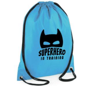 gymtas superhero in training batman