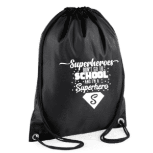 gymtas superheroes don't go to school